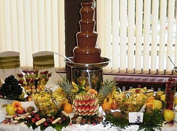 Fantani de ciocolata Cluj Nunta Cluj