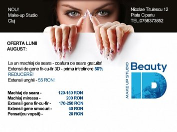 Beauty ID Make-up Nunta Cluj