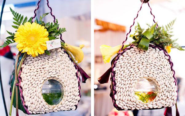 Decoratiune florala targ Salonul Mireselor Cluj